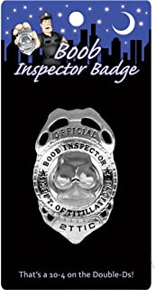 Kheper Games Boob Inspector Badge