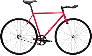 fixie red and white