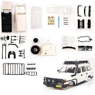 Cimoto Coque de Carrosserie Land Cruiser LC80 en Plastique Non Assemblé de 190Mm pour WPL C14 C24 C24-1 1/16 Accessoires d...