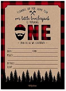 lumberjack party printables