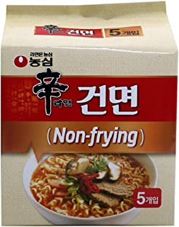 [Nongshim] Shin Ramyun Non-Frying (dried noodles/Pack of 5) / Hot & Spicy Noodle Soup/Korean food/Korean ramen (overseas direct shipment)