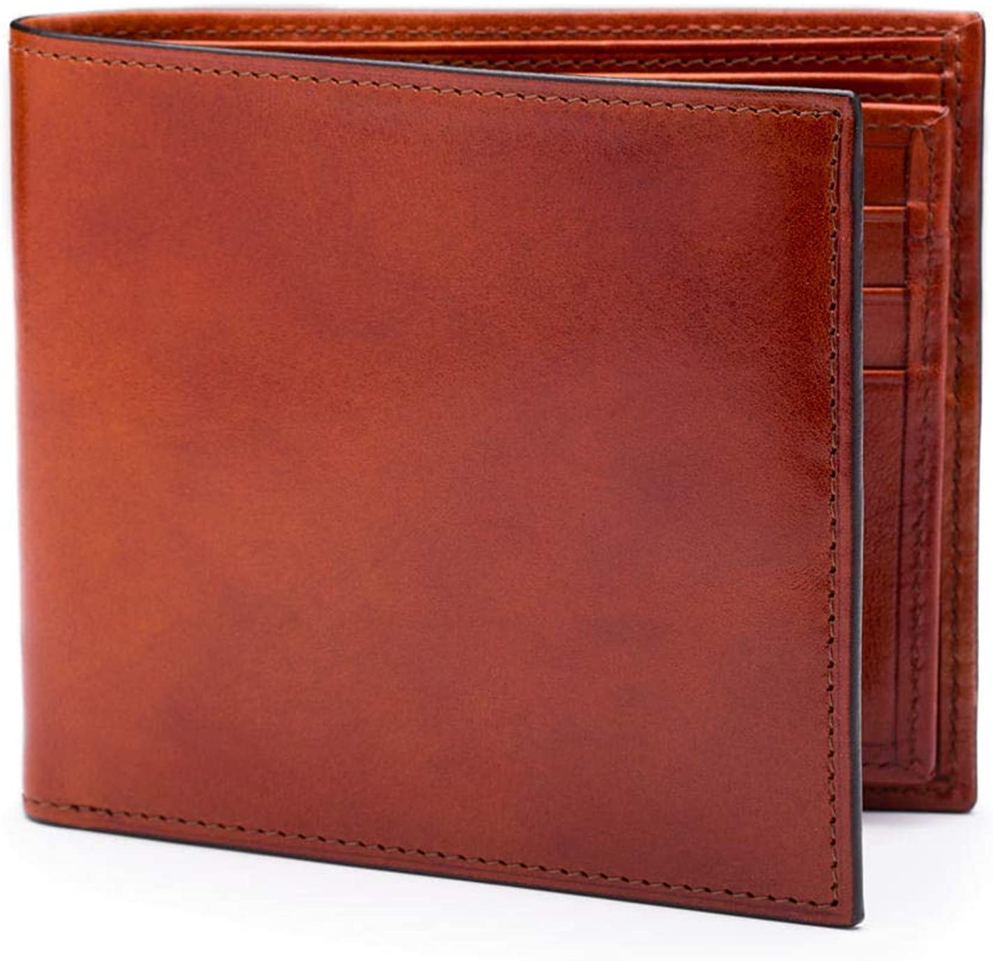 Bosca Old Leather Collection - Eight-Pocket Deluxe Executive Wallet w/Passcase