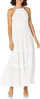 Eliza J Women's Petite Halter Maxi Dress