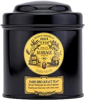 Mariage Frères Paris Schwarzter Tee Paris Breakfast mit Zitrusnoten Dose 100 g