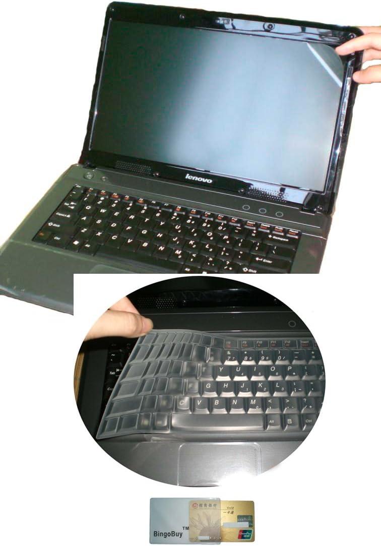 15.6 anti glare /& scratch /& fingerprint Screen Protector for Lenovo ideapad Y700 15 500 15 US Layout Keyboard Skin Cover Z51 500S 15 FLEX 3 15 300 15 clear 700 15