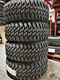 305/70R18 Tires - Set of 4 (FOUR) Kanati Mud Hog M/T Mud-Terrain Radial Tires-LT305/70R18 126/123Q LRE 10-Ply