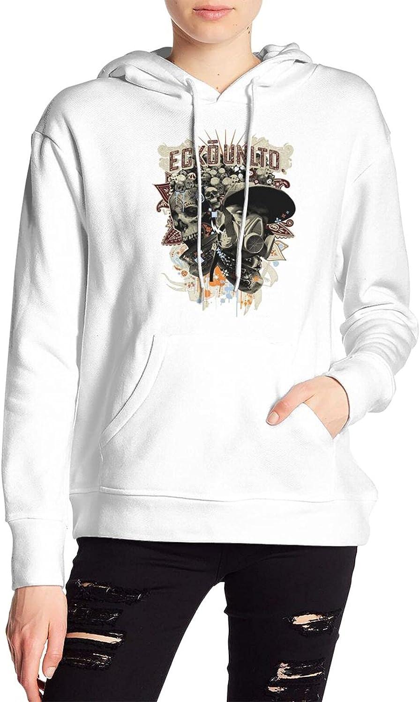 EckÅ Unltd Import Women's White hooded Very popular! sweatshirt