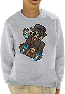 Chemical Board Breaking Bad Kid's Sweatshirt