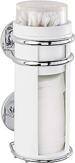 Wenko Express-Loc stojak na patyczki higieniczne i pałeczki do uszu, uchwyt na patyczki higieniczne, mocowanie bez wiercen...