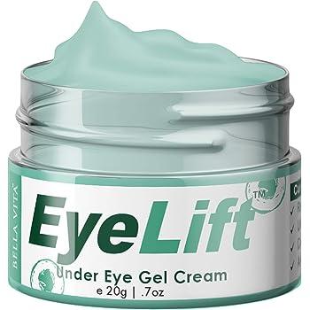 Bella Vita Organic Eyelift Eye Cream Gel For Dark Circles, Puffy Eyes, Wrinkles & Removal Of Fine Lines For Women & Men, 20 g