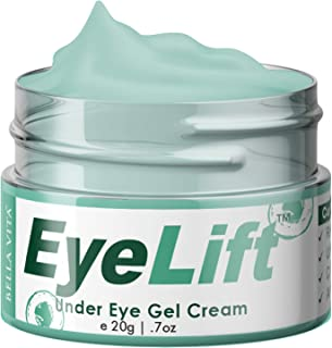 Bella Vita Organic EyeLift Under Eye Cream Gel for Dark Circles, Puffy Eyes, Wrinkles & Removal Of Fine Lines for Women & Men, 20gms