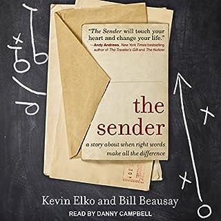 The Sender audiobook cover art
