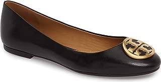 Womens Benton Nappa Leather Ballet Flat Perfect Black 006