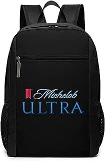 Michelob Ultra Logo Backpack Laptop Backpack School Bag Travel Backpack 17 Inch