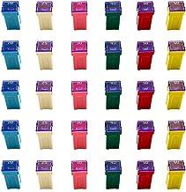 30 Pc Automotive TALL/STANDARD PROFILE JCASE Box Shaped Fuse Kit for pickup Trucks, Cars and SUVs
