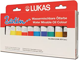 cobra water soluble oil paints by royal talens
