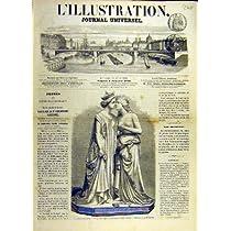 彫像の大理石の縁膜の皇后のフランス語はイタリア人を印刷します