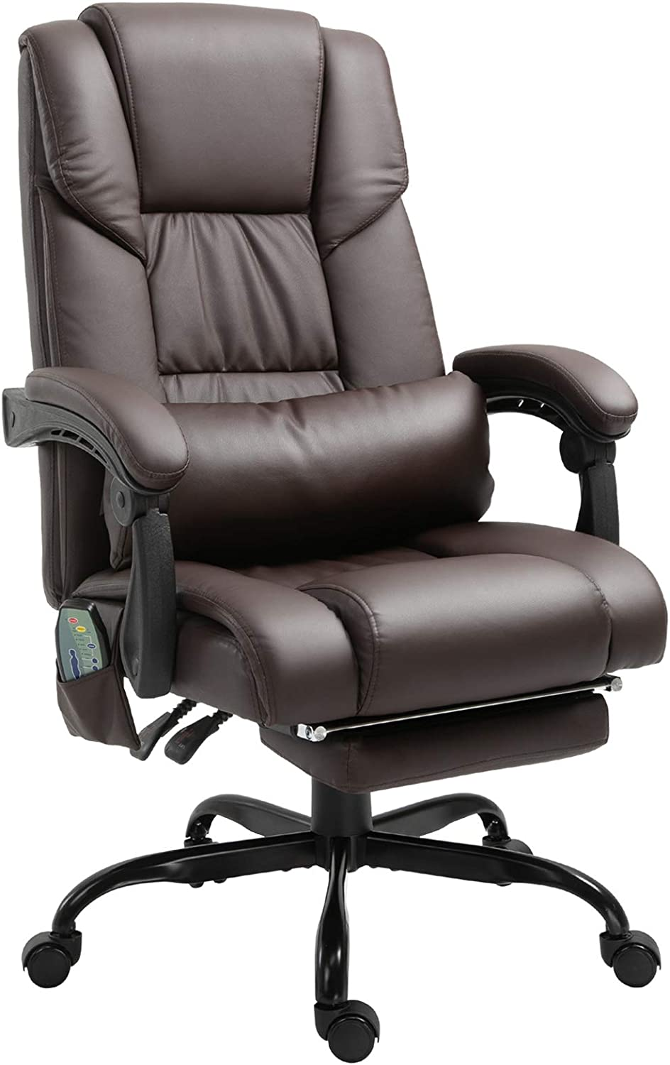 Vinsetto High Back Massage Cheap sale Office NEW Chair Vibrat Desk 6-Point with