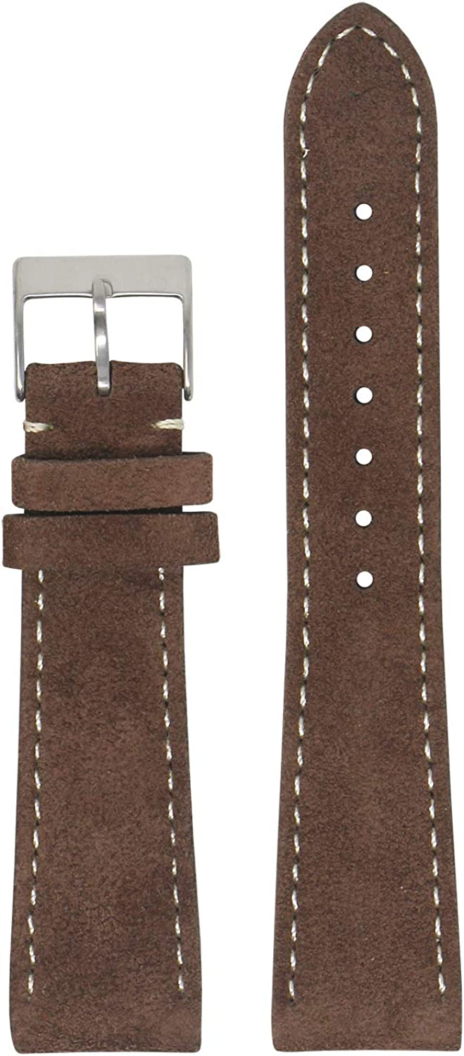 StrapsCo Special price for a limited time Classic Suede Leather Quick Band Ranking TOP16 Release Watch - Strap