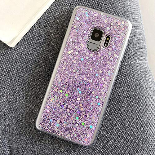 WGOUT para Samsung Galaxy S20 Ultra S7 Edge S8 S9 S10E Plus Nota 5 8 9 10 Pro M10 M20 M30 A20E A10 A70 S A51 A71 A81 Bling Glitter Case, PP, para A20S