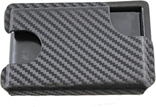 Multi Holsters BMT 2.0 with Money Clip Minimalist Kydex Wallet (Black Carbon Fiber)