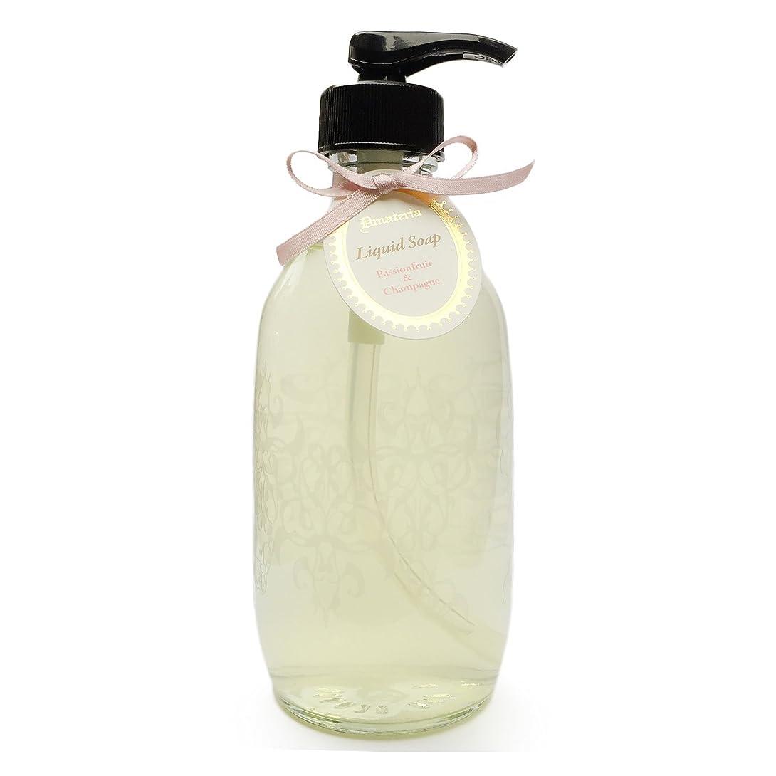 図献身杭D materia リキッドソープ パッションフルーツ&シャンパン Passionfruit&Champagne Liquid Soap ディーマテリア