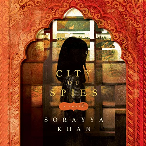 City of Spies audiobook cover art