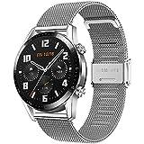 Songsier Cinturino Compatibile con Huawei Watch GT2 PRO 46mm/Watch GT 46mm/Watch GT Active/Watch 2 Classic/Galaxy Watch 3 45mm/Galaxy Watch 46mm/Gear S3/Gear 2, Cinturino di Ricambio da 22 mm