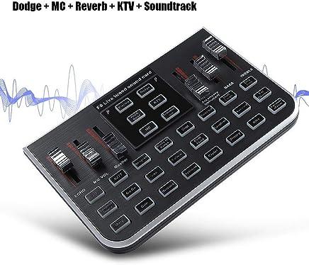 Yiwa, Scheda Audio Digitale Portatile, Mixer Audio, Console di Mixing per Telefono Cellulare Live Broadcast Karaoke Voce per MC, Reverb, KTV e Soundtrack - Trova i prezzi più bassi