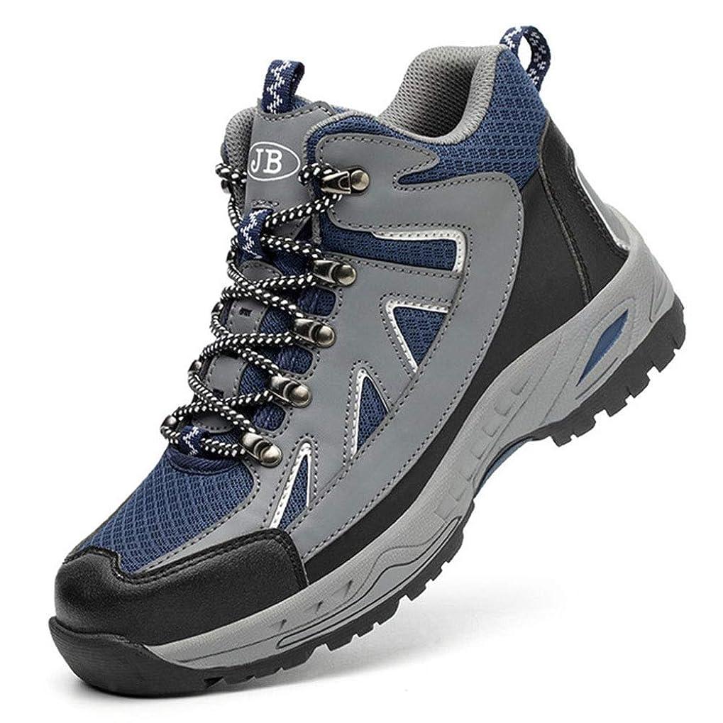 ウナギ歯科の解決安全靴 スニーカー 鋼先芯(JIS H級相当) 作業靴 メンズ 軽量 防滑 ワークシューズ 通気 防刺 耐磨耗 衝撃吸収 作業 通勤 (Color : Black, Size : 36)