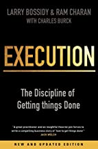 Execution. The Discipline Of Getting Things Done