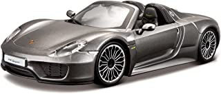 Bburago���Porsche 918�Spyder Car Toy, Grey (18���21076�GY)