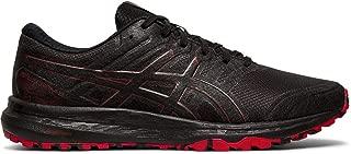 Men's Gel-Scram 5 Trail Running Shoes, 9M, Black/Speed RED