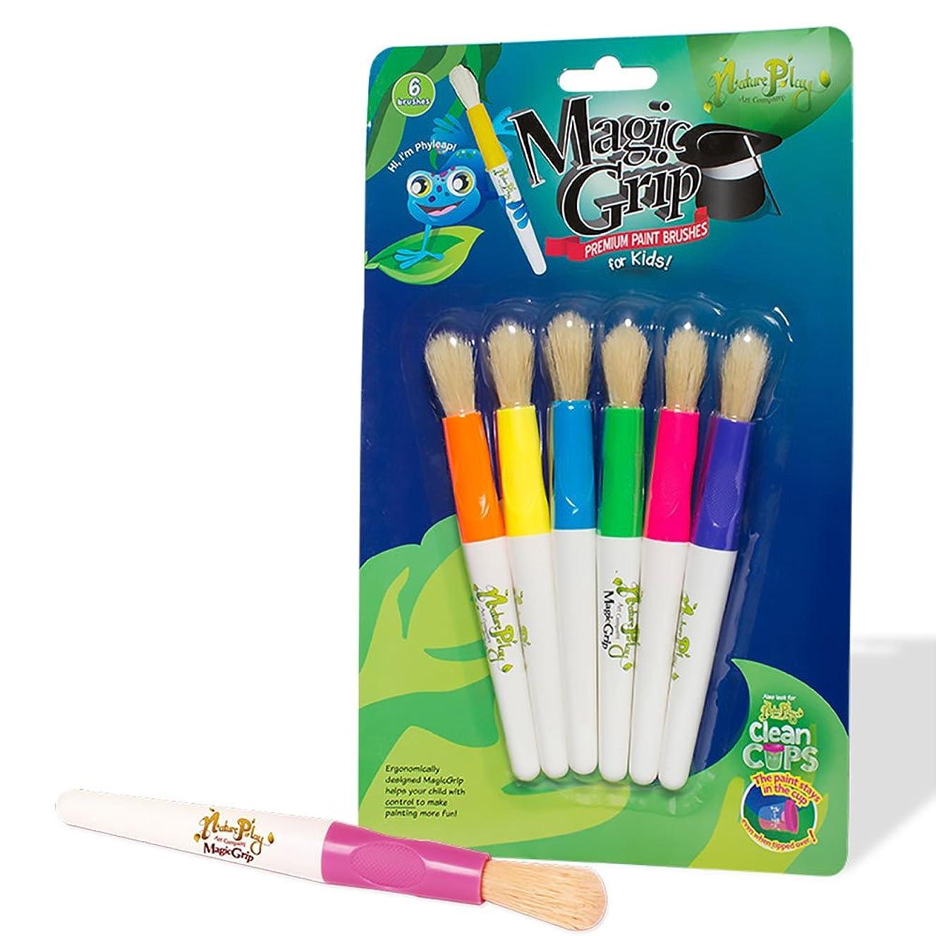 St/6 Magic Grip Premium Paintbrushes