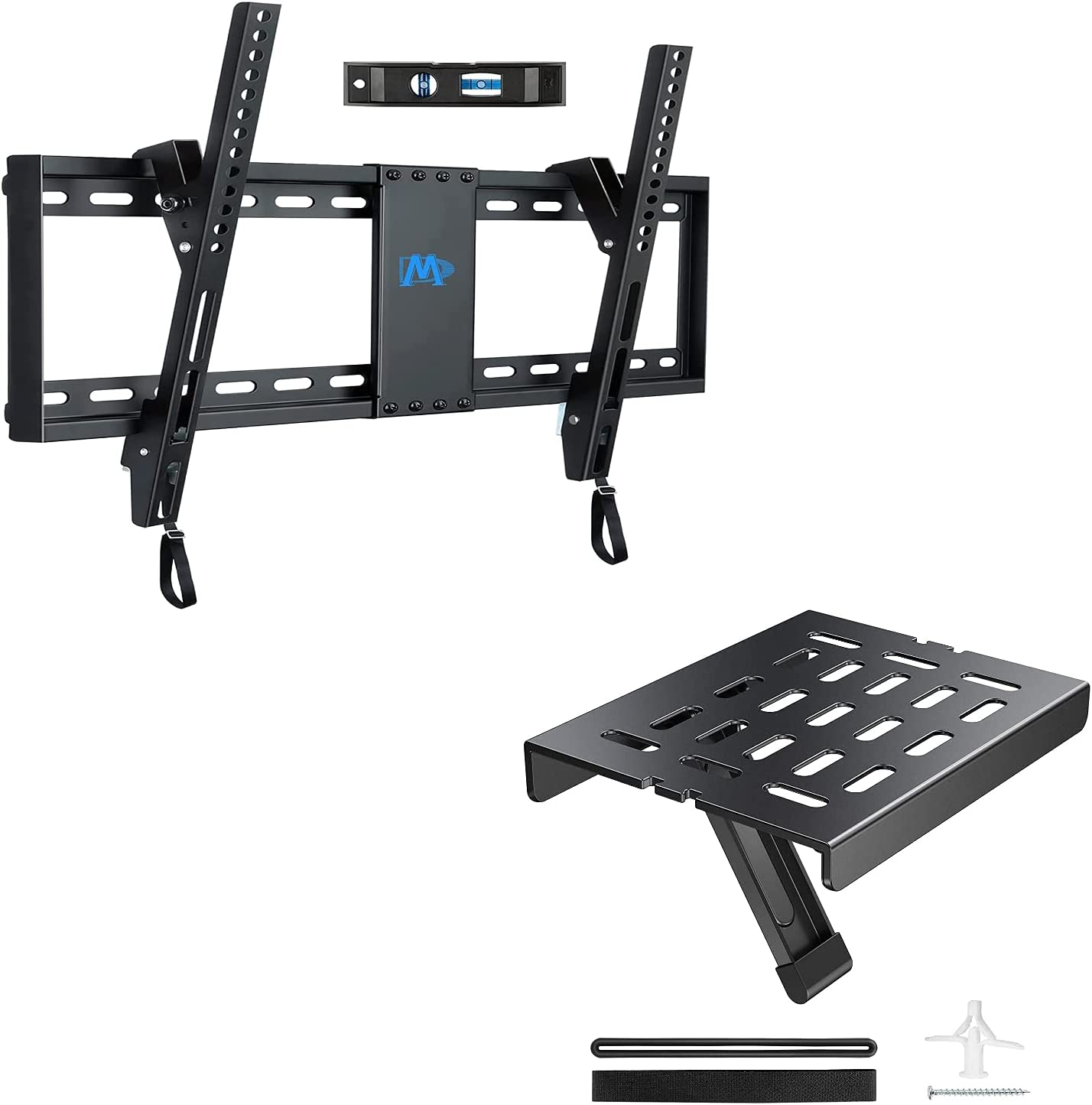 """Mounting Dream MD2268-LK Tilting TV Mount for Most 37-70"""" TVs, Fitting 16- 24"""