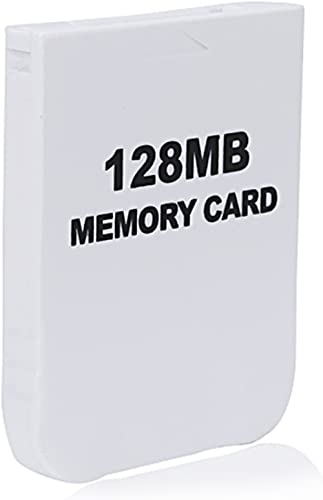 eForBuddy 128MB GC Memory Card for Nintendo Wii GameCube, Black