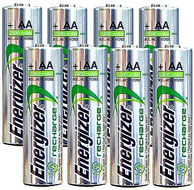 Energizer AA Rechargeable batteries NiMH 2300 8 1.2V - Cheap Translated super special price mAh NH15