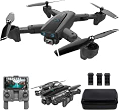 $119 Get GoolRC CSJ S167 GPS Drone, 5G WiFi FPV RC Drone with Camera 4K HD Gesture Photos Video, Auto Return Home, Altitude Hold, Follow Me RC Quadcopter for Adults with 3 Batteries and Handbag