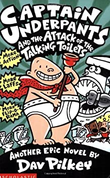 Paperback Captain Underpants and the Attack of the Talking Toilets Book