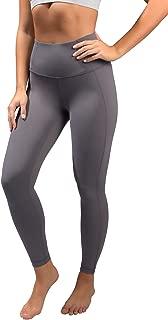 Squat Proof Tummy Control 7/8 Length Leggings with Back Zipper Pocket