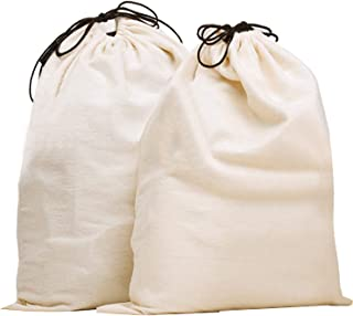 Misslo Jumbo Drawstring Dust Covers Bag for Handbags Storage with Identification Pouch Included