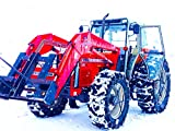 Farm Machines Working in the Snow