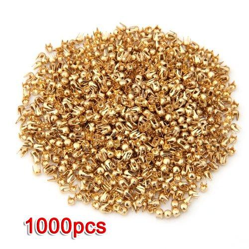 1000X Remaches Tachuelas Cobre Color Dorado Bolso