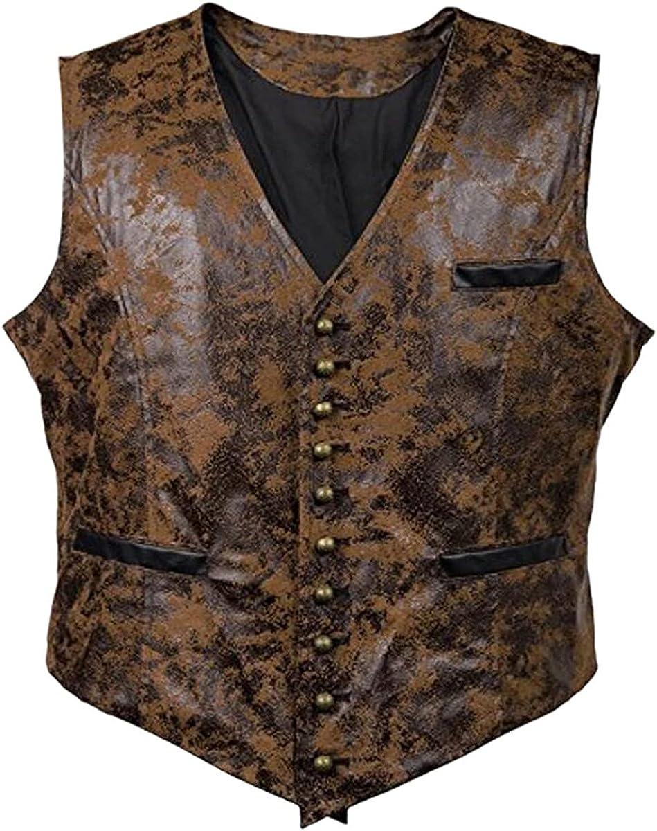 Retro men's suit vest retro single-breasted sleeveless vest casual slim fit