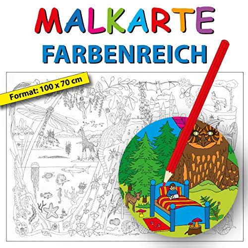 """Erlebnisposter """"Malkarte Farbenreich"""""""