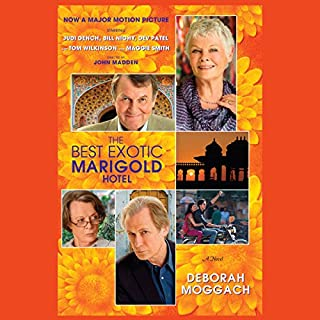 The Best Exotic Marigold Hotel audiobook cover art