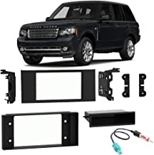 Compatible with Land Rover Range Rover 2003-2012 Single Double DIN Stereo Radio Install Dash Kit