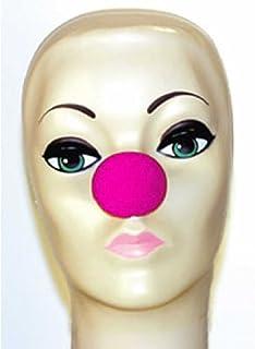 "Magic By Gosh Hot Pink Foam Clown Noses (1 5/8"")"