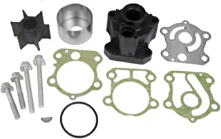 GLM Water Pump Impeller Kit with Housing for Yamaha 4-Stroke 75, 80, 90, 100 hp Replaces 18-3409, 67F-W0078-00 Read Item Description for Exact Applications