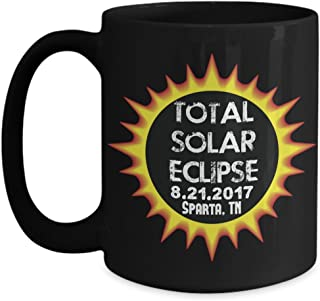 Total Solar Eclipse 2017 Sparta, Tennessee Commemorative Astronomy Mug